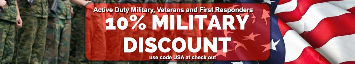 10% miltary discount
