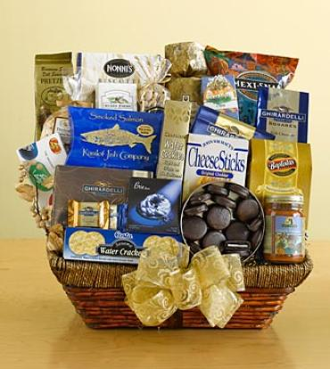 Executive Selection Gourmet Basket