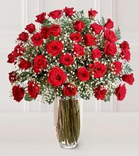 Three Dozen - Red Rose Bouquet