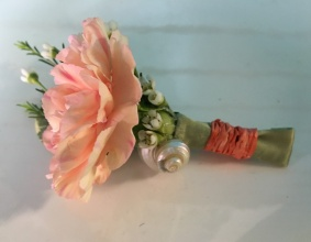 Beach Carnation Boutonniere